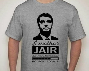 Camisa do Bolsonaro
