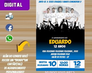 CONVITE DIGITAL REAL MADRID