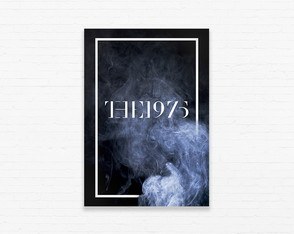 Quadrinho 19x27 The 1975 - Smoke