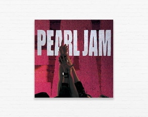 Quadrinho 15x15 Pearl Jam - Ten