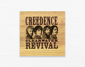 Quadrinho 15x15 Creedence Clearwater Revival