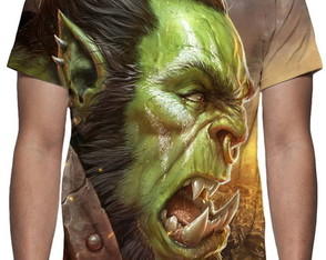 Camiseta Game World of Warcraft Battle for Azeroth
