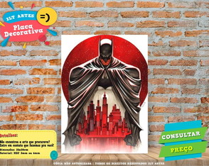 Placa Decorativa - Batman 1 - REF0004