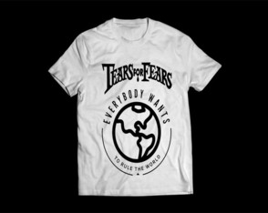 Camiseta Masculina Tears For Fears