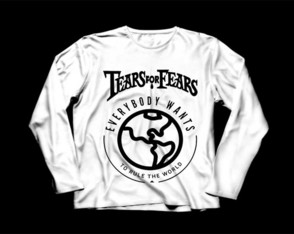 Manga Longa Masculina Tears For Fears