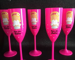 Taça personalizada Spa Party