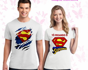 Kit de camisetas super Heróis