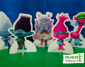 Display de Mesa Dreamworks Trolls