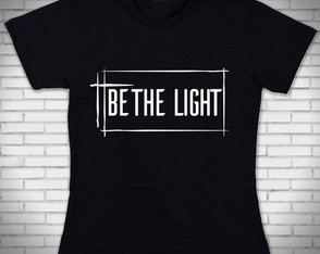 Camiseta Be The Light Evangélico Gospel Baylook Ap