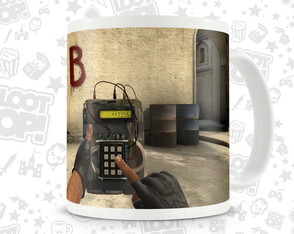 Caneca Gamer Counter Strike The Bomb Has Been Planted LO004