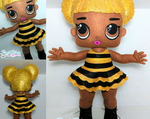 Boneca Lol Surprise Queen Bee - Feltro