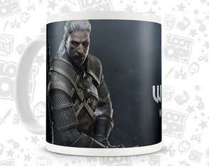 Caneca Gamer The Witcher LO003