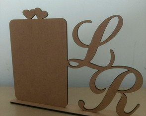 Display Porta retrato noivos mdf