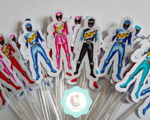 30 toppers Power Rangers