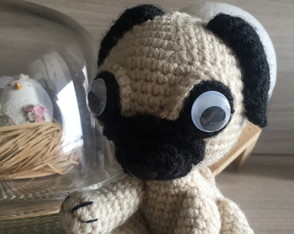 Amigurumi ''Lola The pug''