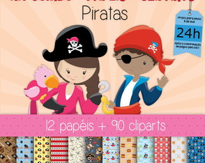 Kit Digital Completo Piratas 2
