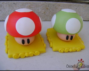 Cogumelos - Mushrooms Super Mario