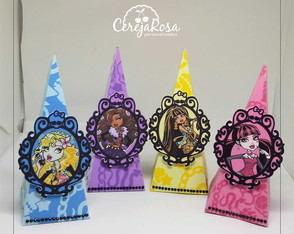 Caixa Cone Monster High