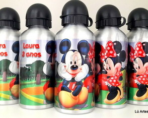 Squeeze Mickey e Minnie 500ml