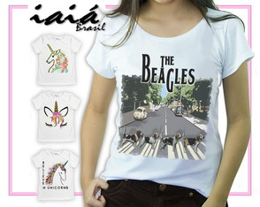 Camiseta Feminina Iaiá Brasil -The Beagles