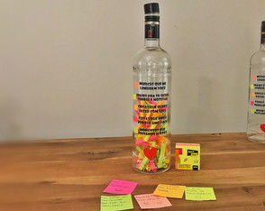 Garrafa Love Post-it - Ketel One | Presente Apaixonado