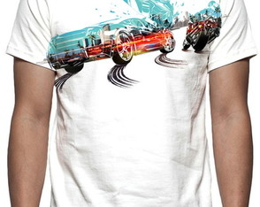 Camiseta Burnout Paradise Remaster - Estampa Total