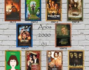 10 Quadros Decorativos Cinema Anos 2000