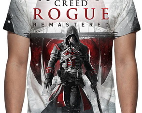 Camiseta Game Assassins Creed Rogue Remaster - Estampa Total