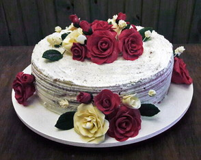Naked cake com cream cheese
