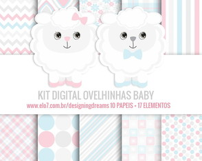 KIT DIGITAL OVELHINHAS BABY
