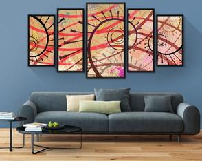 5204e983e Quadros Decorativos Jogos Mosaicos - Coleção de GoQuadros ...