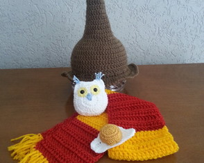 Harry Potter Newborn- Crochê