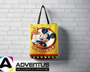 Mini Eco Bag |Mickey 2 | Adventus Estamparia