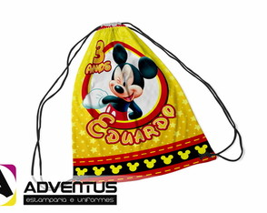 Mochilas Saco | Mickey 2 | Adventus Estamparia