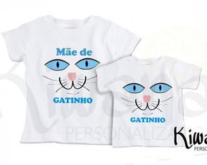 4c5332784d8402 Camisetas Personalizadas Mãe e filha - Coleção de KIWANA PRESENTES ...