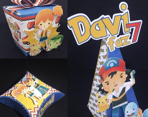 Kit Personalizados festa Pokemon