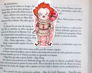 Marcador Magnetico Pennywise It a Coisa