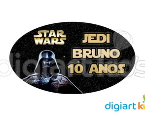 Placa - Painel - Star Wars - Darth Vader