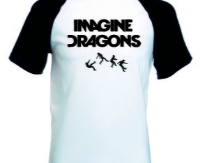 Camiseta Raglan Imagine Dragons