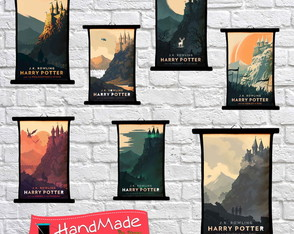 Kit Pergaminho - Filmes Harry Potter