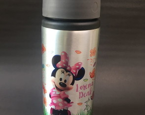 Squeeze Alumínio 600 ml - Minnie