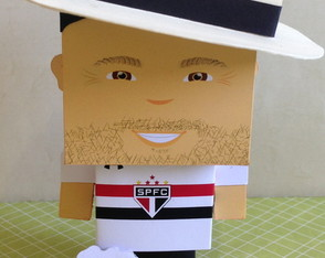 Paper Toy Customizado Boteco