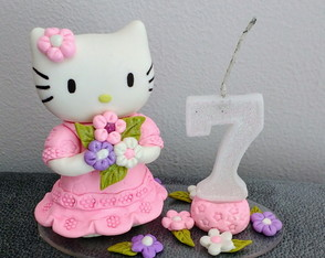 VELA HELLO KITTY sete