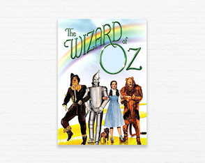Quadrinho 19x27 Wizard of Oz - Road to Oz