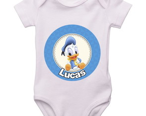Body Infantil Pato Donald