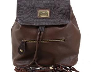 bolsa mochila feminina em couro legítimo 408e121ba2e