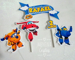 Topo Super Wings Scrap