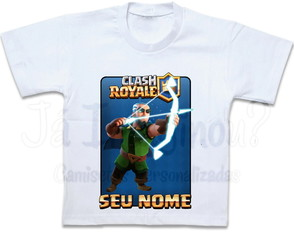 Camiseta Arqueiro Mágico Clash Royale Magic Archer