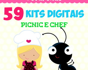 Kit Digital Pacote - Picnic e Chef
