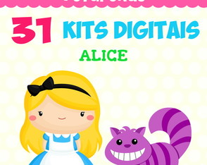 Kit Digital Pacote - Alice